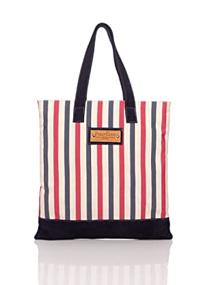 Polo Club Tote Bag Alachua 40x49x10 cm (blau/rot)