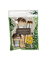 Authentic Organic Natural Eco Tools Bamboo Starter Makeup Brush Set Eco Tools Make Up (5 Piece Makeup Brush Set)