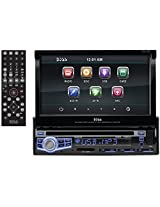 """Boss Audio BV9973 - In-Dash, Single-Din, DVD/CD/MP3 Compatible AM/FM Receiver Featuring A Motorized 7"""" Widescreen, Touchscreen, Digital, TFT Monitor"""