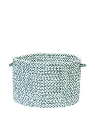 Colonial Mills Od Houndstooth Tweed Storage Basket