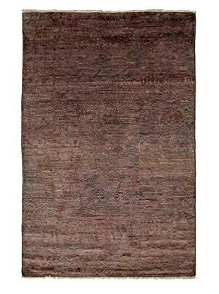 Darya Rugs Moroccan Oriental Rug, Silver, 3' 10