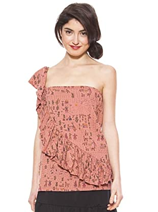 La Casita de Wendy Camiseta Mapa Peruano (Rosa)