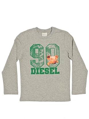 Diesel Kid Longsleeve Toril (Grau)