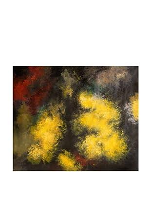LegendArte Pintura al Óleo sobre Linezo Sfumature Oniriche 50X60