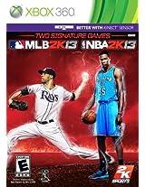 2K Sports Combo Pack - MLB2K13/NBA2K13 (Xbox 360)