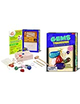 Gems Treasure Dig (Age 8+) With Genuine Gemstones!