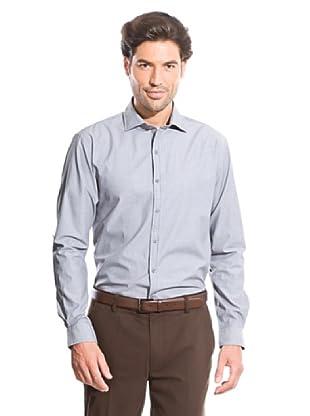 Cortefiel Camisa Rayas (Gris Oscuro)