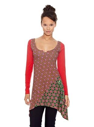Desigual Camiseta Limbo (Rojo)