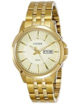 Citizen Analog Gold Dial Men's Watch - BF2013-56P