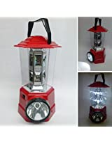 Red Rechargeable Emergency LED Lantern