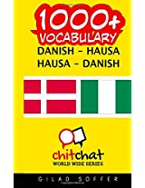 1000+ Danish - Hausa, Hausa - Danish Vocabulary