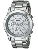 "Geneva Women's 2365-silver-GEN  ""Boyfriend"" Watch"