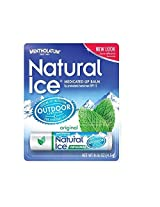 Natural Ice Medicated Lip Protectant/Sunscreen Spf 15, Original 0.16 Oz (4 G)