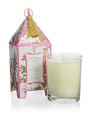 Seda France 10-Oz. Pink Pomegranate Pagoda Candle