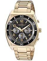 Caravelle by Bulova Sport Analog Black Dial Men's Watch - 45A111