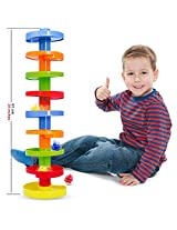 Ball Drop. Educational Family Fun for Baby and Toddler. Stack them higher.