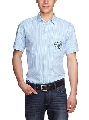 Tom Tailor Camisa Gavi (Azul Celeste)