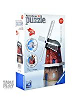 Ravensburger 3D Puzzles Windmill, Multi Color (216 Pieces)