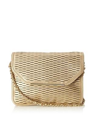 Ivanka Trump Women's Lasercut Shoulder Bag (Gold)