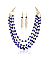 Stunner Gold plated contemporary set