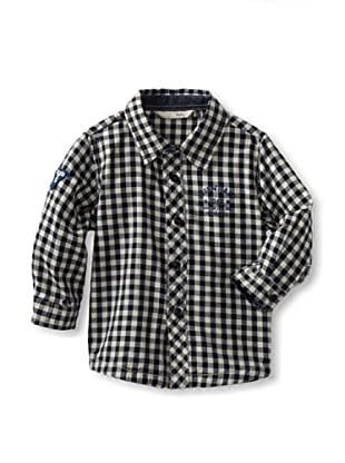 Losan Baby Navywinter Button-Up Shirt (Navy)