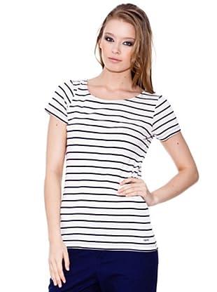 Esprit Camiseta Boat (Blanco / Marino)