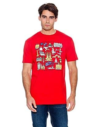 Kukuxumusu Camiseta Gaudracs (Rojo)