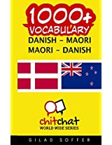 1000+ Danish - Maori, Maori - Danish Vocabulary