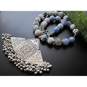 Dreamz Jewels Chunky Blue Tribal Necklace