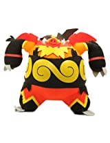 "Pokemon Best Wishes Black And White Banpresto Dx Plush - 47340 - 9"" Enbuoh/Emboar"