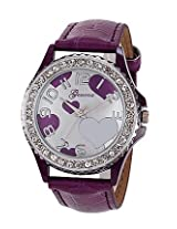 Geneva White Leather Analog Women Watch - GL-11