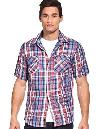 Etnies Camisa Cuadros (Azul / Rojo)