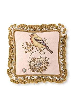 Sally Eckman Roberts Gilded Yellow Songbird 14