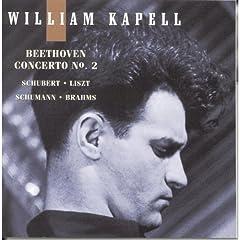 輸入盤CD カペル独奏 ベートーヴェン:ピアノ協奏曲第2番、リスト:メフィスト・ワルツ第1番ほかの商品写真