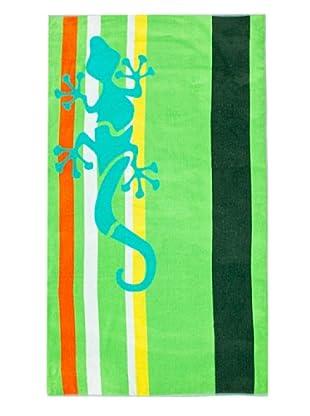 Secaneta Toalla Playa Reptil (Verde)