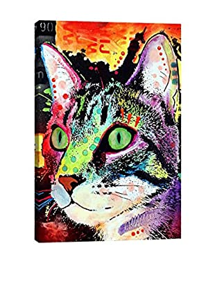 Dean Russo Curiosity Cat Gallery Wrapped Canvas Print