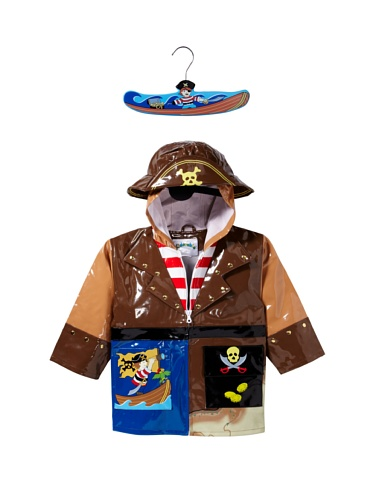 Kidorable Pirate Raincoat (Brown)