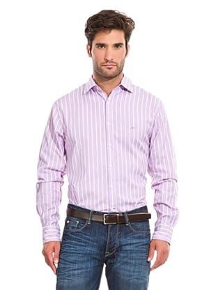 Pedro del Hierro Camisa Sport (Violeta / Blanco)
