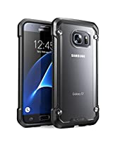 SUPCASE Cell Phone Case for Samsung Galaxy S7 - Retail Packaging - Black/Frost