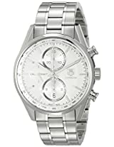 TAG Heuer Men's CAR2111.BA0720 Carrera Silver Dial Chronograph Steel Watch