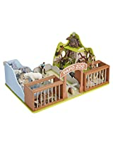 Papo Wild Animal Kingdom Environments Set, The Zoo