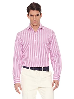 Hackett Camisa Rayas (Rosa / Marino)