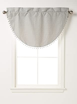 Waterford Linens Kelly Cascade Valance, Sea Blue,  40