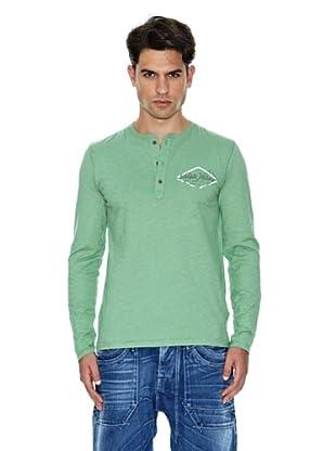 Salsa Camiseta Estampado (Verde)