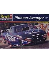 Revell Monogram 7670 Pioneer Avenger Funny Car Plastic Model Kit 1:24 Scale Skill Level 3