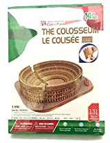 Cubicfun 3 D Puzzle, The Roman Colosseum / Le Colisee, 131 Pc