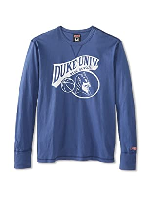 Tailgate Clothing Company Men's Duke Blue Devils Long Sleeve Tee (Washed Royal)