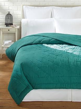 Aviva Stanoff Large Sand Dollar Quilt (Emerald)