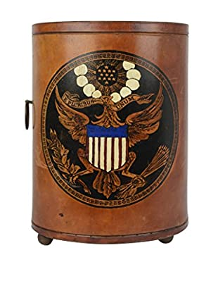 Uptown Down Previously Owned E Pluribus Unum. Oval Trash Bin
