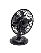 Connectland CL-ACC65015 USB Desk Fan (Black)